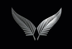 Image Is Loading Silver Fern Pair New Zealand Symbol Car Boat