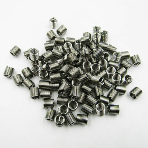 M6x1.0x1.5D Standard Metric Helicoil Screw Thread Wire Inserts Stainless Steel