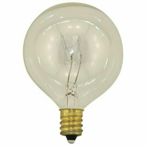 2 REPLACEMENT BULBS FOR BULBRITE Q40G9FR 40W 120V