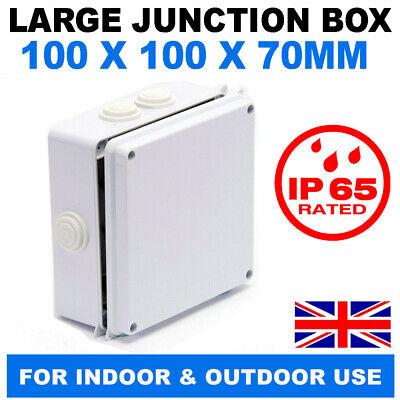 WEATHERPROOF OUTDOOR GARDEN POND  ADAPTABLE JUNCTION BOX