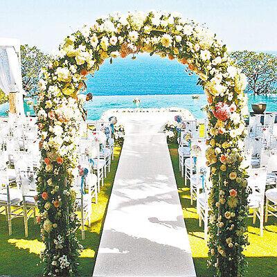 Metal Garden Archway Wrought Climbing Plants Flower Arbour Pergola Wedding Party