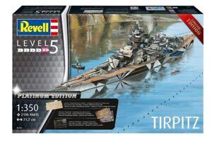 Revell-05160-1-350-Tirpitz-Platinum-Edition-Neu