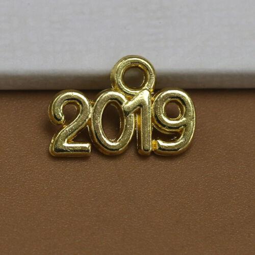 año 2019 encantos del grano de plata tibetana HAZLO TÚ MISMO Joyería Pulsera Colgante hgfo 100 un
