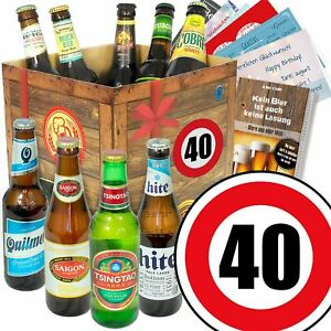 Biergeschenke Zum 40 Geburtstag Beste Biere Der Welt Geschenk Fur