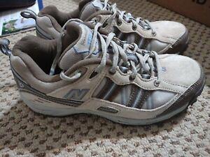 New Balance 644 Women's Size 9 Walking Tan Comfort Sneaker Hiking Trail Shoes