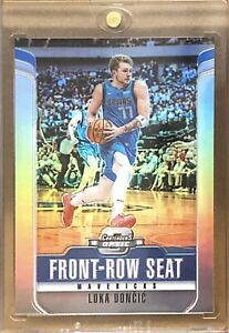 Luka-Doncic-2018-19-Contenders-Optic-Front-Row-Seat-SILVER-PRIZM-27-Rookie-RC
