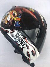 Shoei RF 1000 Troy Lee Picotte Joker Motorcycle Helmet with Dark Shields Medium