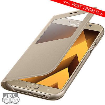 Original Genuine Samsung Sm A720fds Galaxy A7 2017 Sview S View Cover Case 8806088628608 Ebay