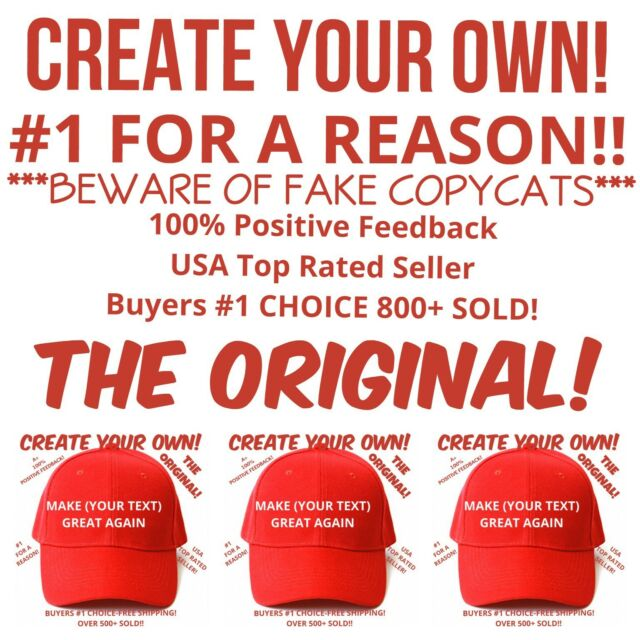0f029ff3501c0 Customized MAKE AMERICA GREAT AGAIN HAT Trump Inspired PARODY FUNNY  EMBROIDERED