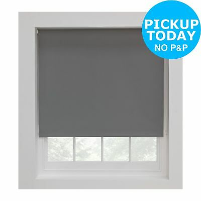 Argos Home Blackout Thermal Roller Blind - 4ft - Flint ...