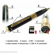 Spy Pen Camera with HD Quality Audio/Video Recording,up to 32GB card supportable