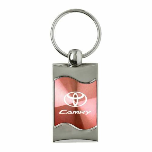 Toyota Camry Key Ring Pink Wave Keychain