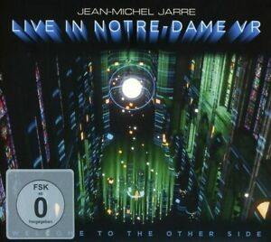 Jean-Michel Jarre CD + Blu-ray Welcome To The Other Side - Live in Notre Dame VR