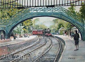 Pickering-Station-Acrylique-Peinture
