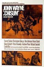 CHISUM Movie POSTER 27x40 C John Agar John Wayne Forrest Tucker Geoffrey Deuel