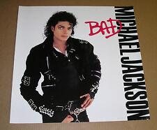 Michael Jackson Bad Promo 1987 Poster 23x23