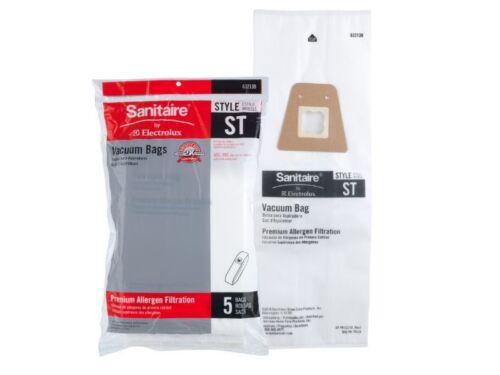 5 Bags Genuine Eureka Sanitaire Style ST Cloth HEPA Cleaner Bags 63213B-10 OEM