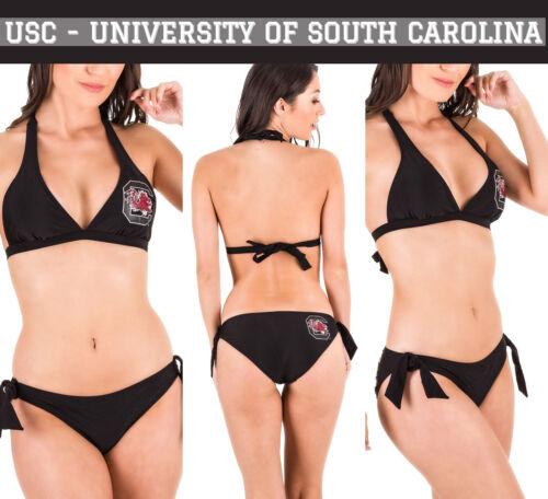 Coqueta Swimwear Fanatic Halter Top Moderate Bikini University of South Carolina
