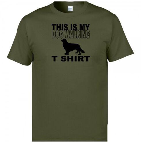 Dog Walking T Shirt