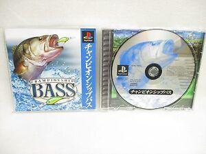 CHAMPIONSHIP-BASS-PS1-Playstation-Japan-Game-p1