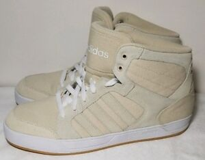 Details about Adidas Neo Raleigh Mid W Womens Sneaker Shoes Ortholite Bone Size 11 New