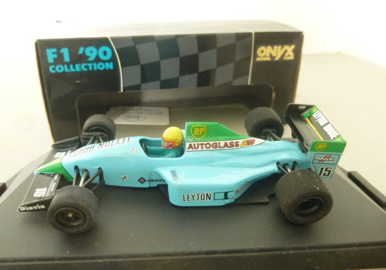 Onyx Model Racing Cars Leyton House House House CG901 Gugelmin Formula 1 90's Collection 3240b3