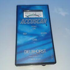 Delmhorst Accuscan Non Invasive Moisture Meter No Case No Case