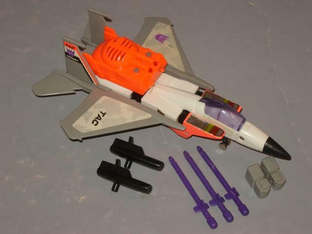 G2 TRANSFORMER STARSCREAM COMPLETE   6 LOTS OF PICS  CLEANED  ELECTRONICS WORK