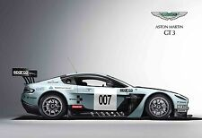 Aston Martin V12 Vantage GT3 - 30x20 Inch Canvas - Framed Picture Art Print