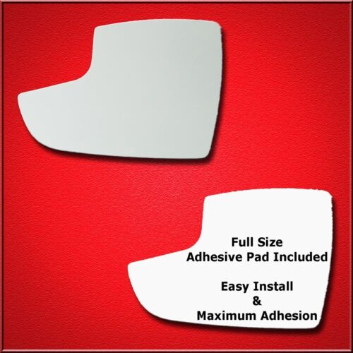 Lower Full Adhesive For 12-18 Focus Driver Side Mirror Glass Replacement