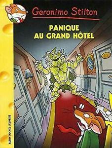 Geronimo-Stilton-Panique-Au-Grand-Hotel-N49-Edicion-Francesa