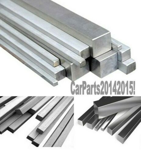 6082-T6 TopQuality Length; 375mm 6.3mm x 6.3mm Aluminium solid square section
