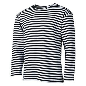 8dca40372e377 Rusa Marino Camiseta Suéter Suéter Jersey Manga Larga Winter Algodón ...