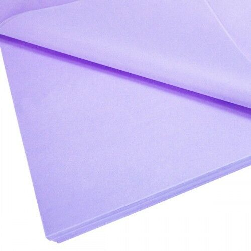 Tissue paper sheets lilac 16 colours 500x750 acid free 10 sheets