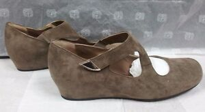Scarpe donna Anyi Lu Comode Beige Zeppa Woman Shoes Pelle MADE ITALY Schuhe