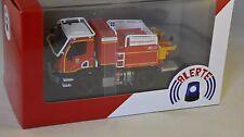 ALERTE 052 - MERCEDES BENZ UNIMOG U20 CCF GALLIN 13 BMPM Marseille Pompiers 1/43