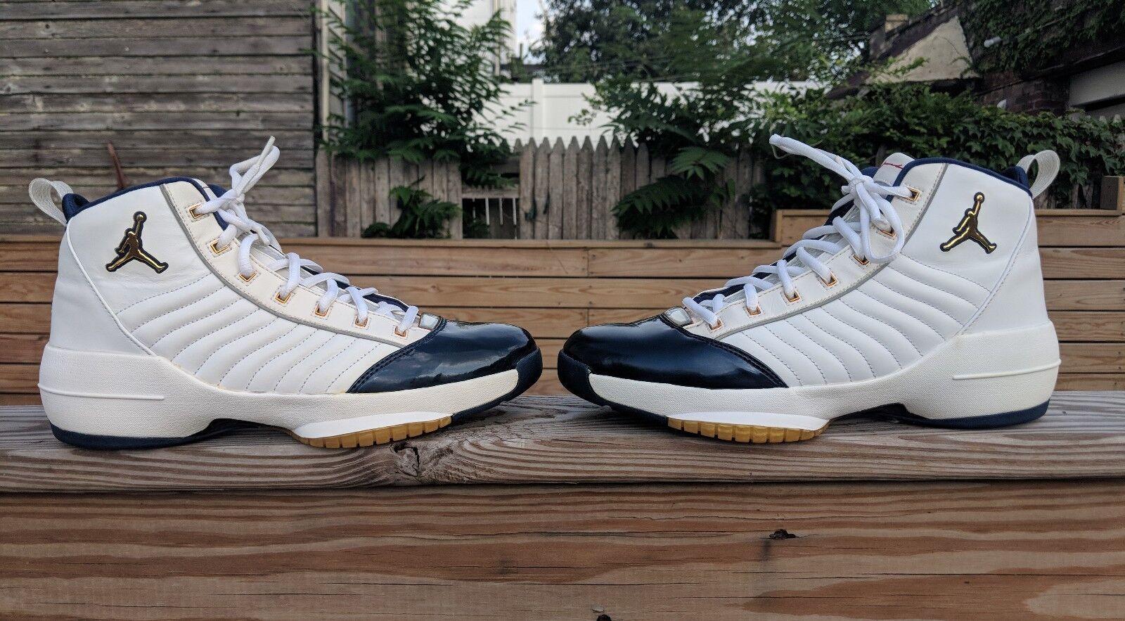 2004 OG Air jordan 19 (XIX) SE Olympic Edition Size 10.5
