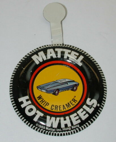 Redline Hotwheels Original Metal Button HK Whip Creamer