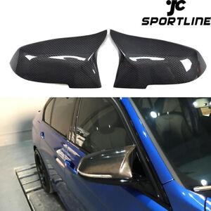 Paar-Carbon-Spiegelkappen-Gehaeuse-fuer-BMW-F20-F21-F22-F30-F31-F34-F32-F33-X1-E84