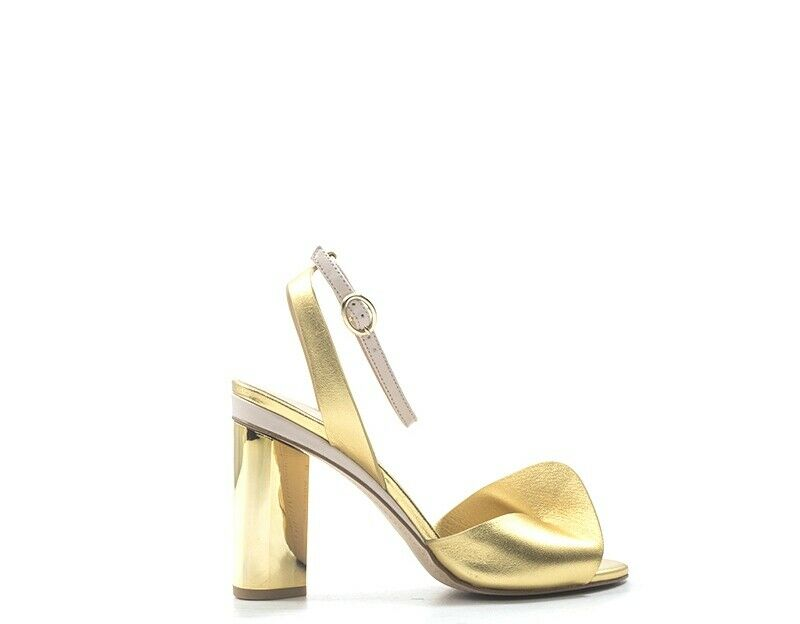 zapatos WHAT FOR Femme amarillo Cuir naturel SS19WF094-OR