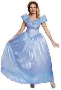 Cinderella Ultra Prestige Adult Women Costume Disney Princess Gown Halloween