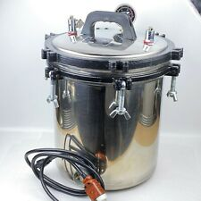 18 Liters Xfs 280a Portable Stainless Steel Pressure Steam Medical Autoclave