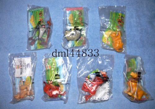 1994 Burger King Disney's Lion King MIP Complete Set - Lot of 7, Girls & Boys