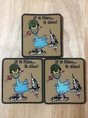 5x Oozlefinch Air Defense Artillery Morale Patch Tactical Military Army ADA Hook