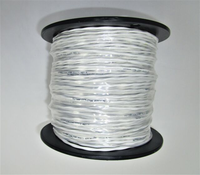 50 Ft Mil-Spec Tin Plated Copper ETFE 22 AWG  Electrical Wire Blue//White .