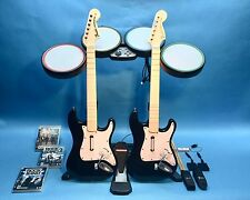 Rock Band Special Edition Bundle PS4 PS3 PS2  2 Guitars + 3 Games