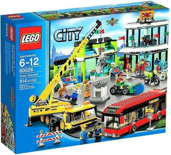 LEGO City Town Square Set