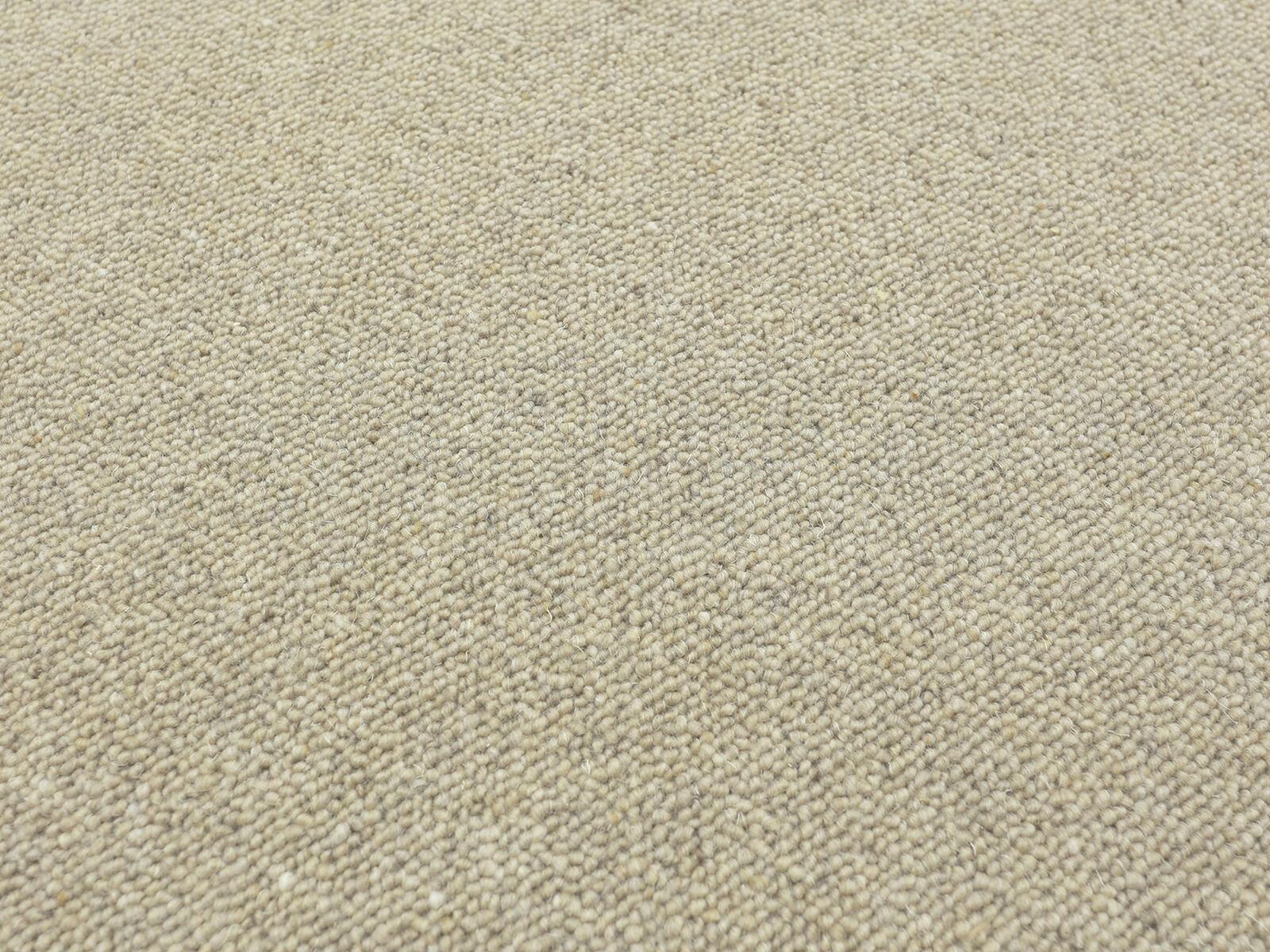Tango Kiesel HEVO ® Teppich   Teppichläufer Teppichläufer Teppichläufer 120x340 cm 100% Wolle 298781