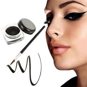 Cosmetic-Waterproof-Black-Color-Eye-Liner-Eyeliner-Shadow-Gel-Makeup-amp-Brush