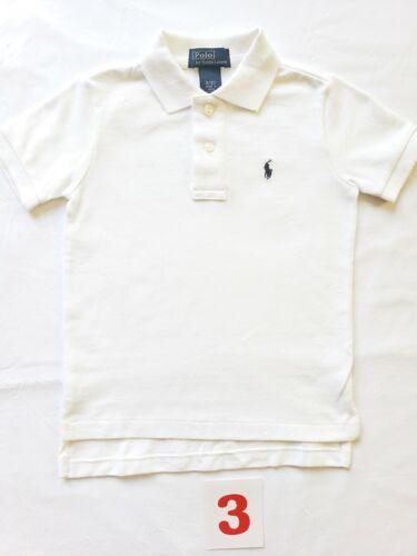 NWT Ralph Lauren T-shirt 3 3T boy Cotton Mesh POLO  shirt